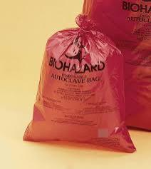 24X24 2MIL BIOHAZARD BAG /250 PER CASE