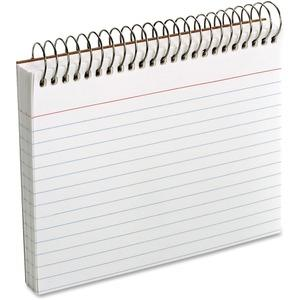 4X6 SPIRAL BOUND INDEX CARD