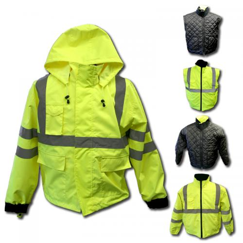 AEI CL3 LIME EXTREME WINTER JACKET 5 PC X