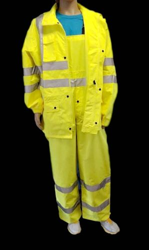 AHLBORN ANSI/ISEA 107-2015 Class 3 Type E Lime Bib Overalls with 3M Scotchlite Reflective Tape Large