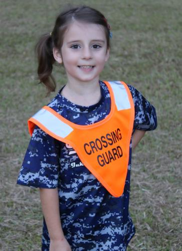 Ameri-Viz B-SAFE CHILDS CROSSING GUARD PONCHO 1