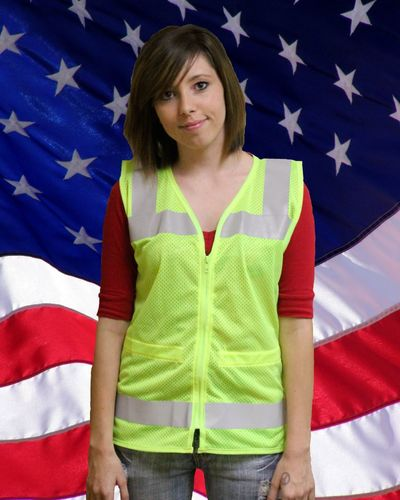 Ameri-Viz CLASS 2 REGAL WOMENS SAFETY VEST