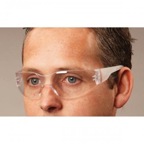 Ameri-Viz CLEAR WRAP AROUND GLASSES /DOZEN