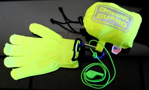 Ameri-Viz CROSSING GUARD KIT / BAG/ WHISTLE/ GLOVES