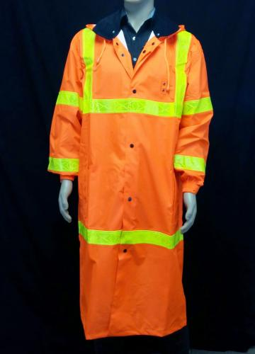 Ameri-Viz NU-WAVE ANSI Compliant Raincoat