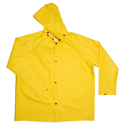 CORDOVA DEFIANCE FR .28MM PVC/NYLON YELW 2PC RAIN COAT 5X