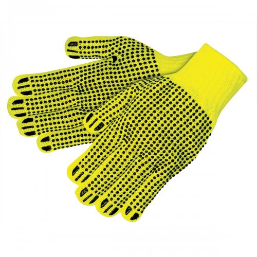 CORDOVA HI-VIS YELLOW HEAVYWEIGHT ACRYLIC MACHINE KNIT, S