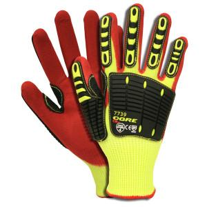 CORDOVA OGRE-CR+ 13-GAUGE HI-VIS YELLOW HPPE/GLASS 2X