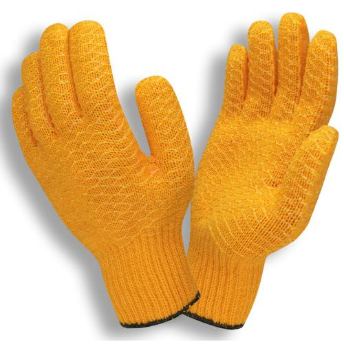CORDOVA ORANGE SYNTHETIC MACHINE KNIT, SOFT PVC S