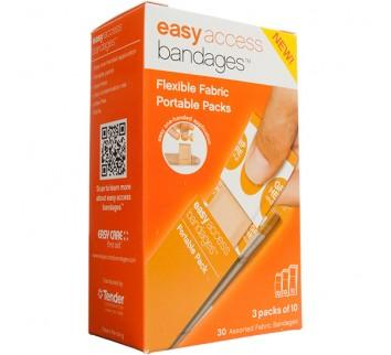 Easy Access Bandage Retail Box Fabric Assorted (30
