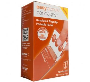 Easy Access Bandage Retail Box Knuckle Fingertip (
