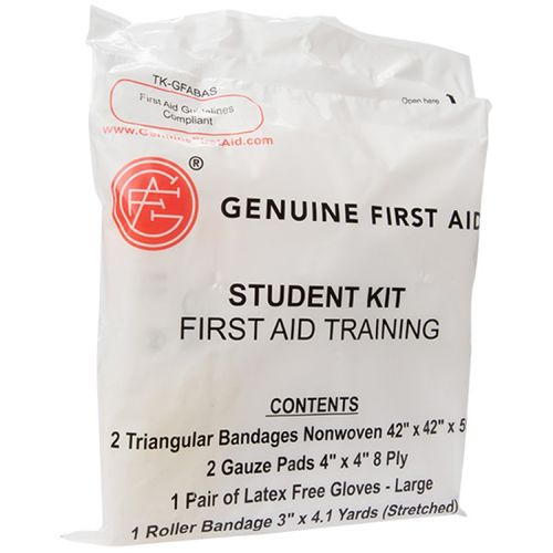Genuine First Aid STUDENT BASIC TRAINING KIT