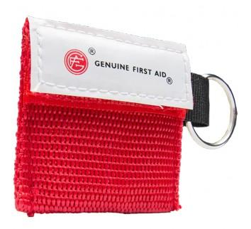 Genuine Mini CPR Key Ring with One Way Valve