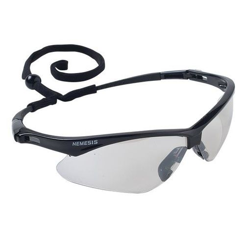 Kimberly Clark Professional Jackson™ V30 Nemesis™ Eyewear, Black Frame, Indoor/Outdoor Clear Lens