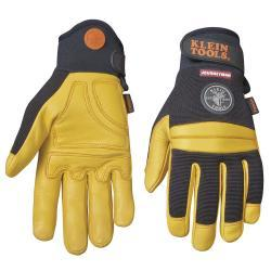Klein Tools Journeyman Pro Leather Work Gloves - Large