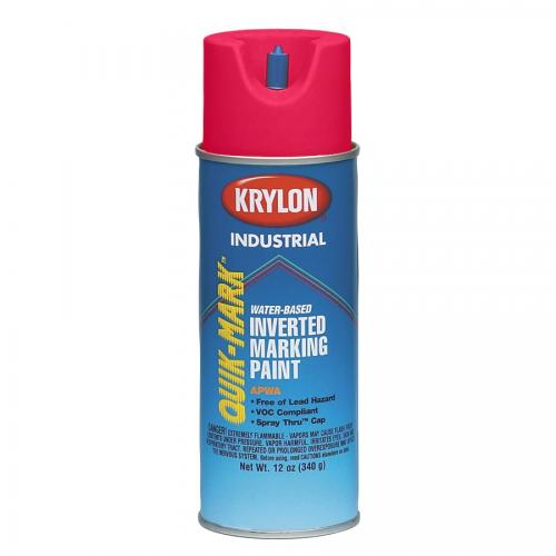 Krylon� Industrial Quik-Mark Water-Based Inverted Marking Paint