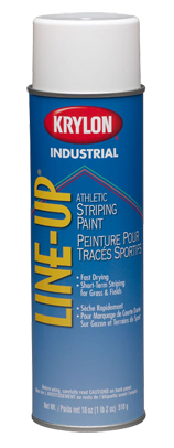 Krylon LINEUP WB ATHLETIC FIELD STRIPING PAINT 20 OZ