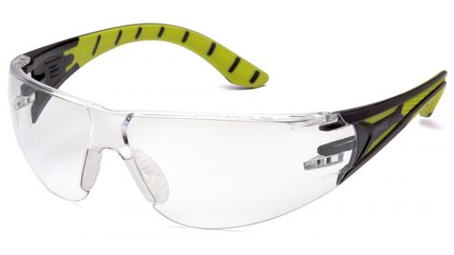 Pryamex ENDEAVOR+ BLACK/GREEN-CLEAR LENS