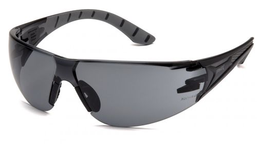 Pryamex ENDEAVOR+ BLACK/GREY FRAME/GRAY H2X ANTI-FOG LENS