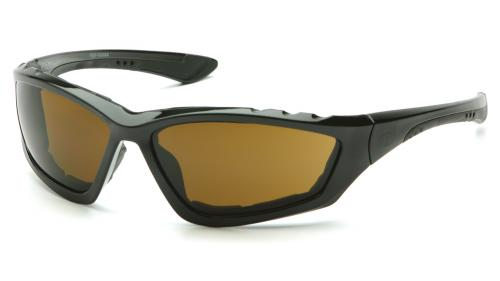 Pyramex ACCURIST BLACK FRAME/COFFEE ANTI-FOG LENS