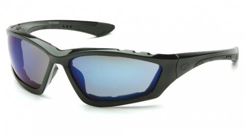Pyramex ACCURIST BLACK FRAME/ BLUE MIRROR LENS
