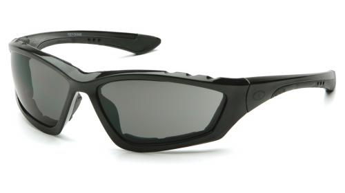 Pyramex ACCURIST BLACK FRAME/  GRAY ANTI-FOG LENS