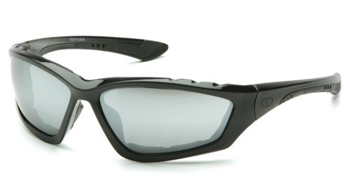Pyramex ACCURIST BLACK FRAME/ SILVER MIRROR LENS