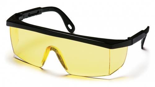 Pyramex INTEGRA BLACK FRAME WITH AMBER LENS