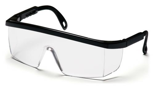 Pyramex INTEGRA BLACK FRAME WITH CLEAR LENS