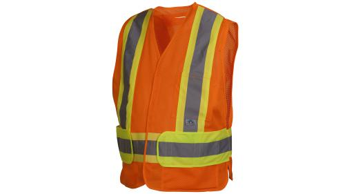 Pyramex RCA2710  CLASS 2 HI VIS ORANGE ADJUSTABLE M-XL