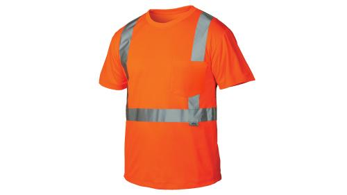 Pyramex RTS2110  CLASS HI-VIS ORANGE T-SHIRT