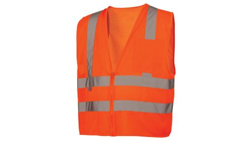 Pyramex RVZ26 SERIES CLASS 2 HI-VIS ORANGE VEST MEDIUM