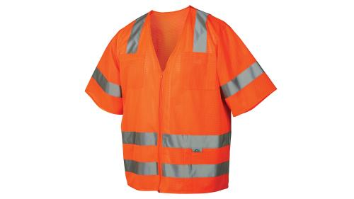 Pyramex RVZ31 CLASS 3 ORANGE VEST MEDIUM