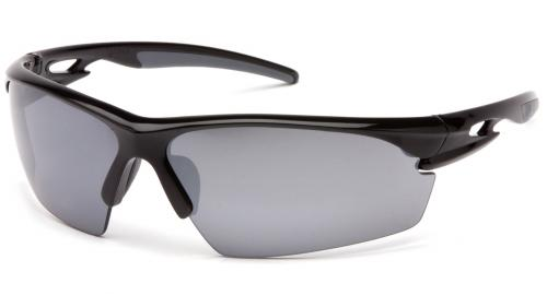 Pyramex SEMTEX BLACK FRAME WITH SILVER MIRROR LENS