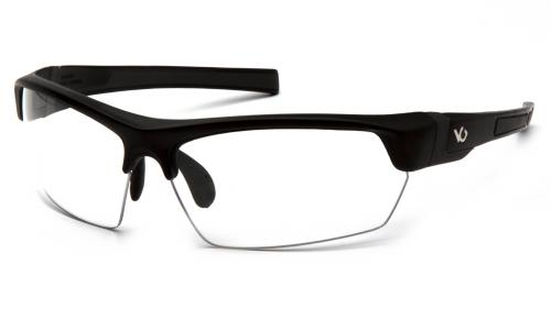 Pyramex TENSAW BLACK/GRAY FRAME, CLEAR ANTI-FOG LENS