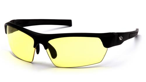 Pyramex TENSAW BLACK/GRAY FRAME, YELLOW ANTI-FOG LENS