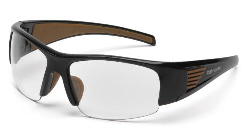 Pyramex THUNDER BAY ANSI BLACK FRAME/CLEAR ANTI-FOG LENS
