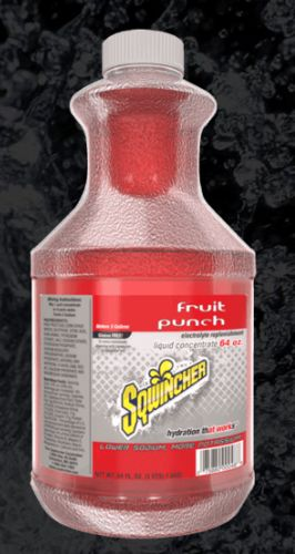 Sqwincher Sqwincher® Liquid Concentrate, 64 oz Bottle, Fruit Punch