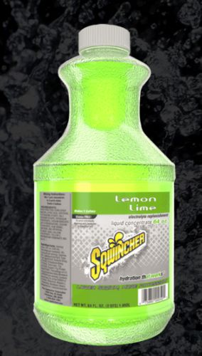 Sqwincher Sqwincher® Liquid Concentrate, 64 oz Bottle, Lemon-Lime