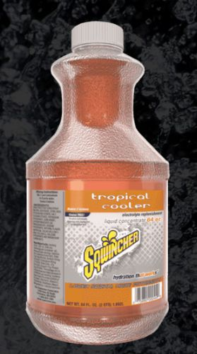 Sqwincher Sqwincher® Liquid Concentrate, 64 oz Bottle, Tropical Cooler
