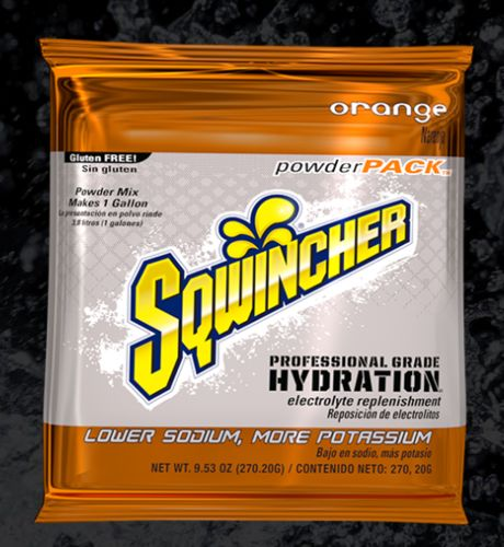 Sqwincher Sqwincher® PowderPacks (Yields 1 gal), Orange