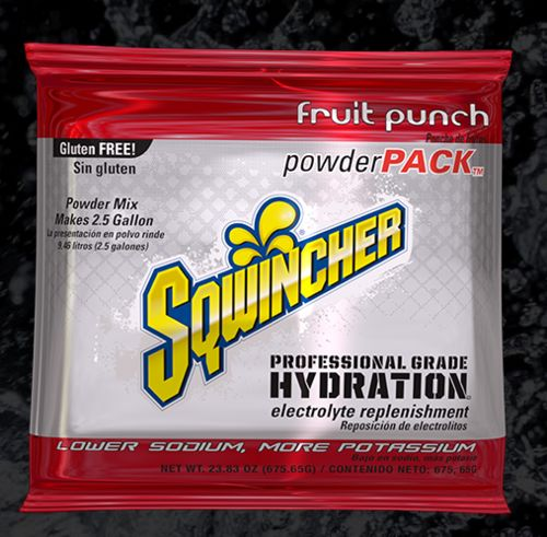Sqwincher Sqwincher® PowderPacks (Yields 2.5 gal), Fruit Punch