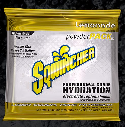 Sqwincher Sqwincher® PowderPacks (Yields 2.5 gal), Lemonade