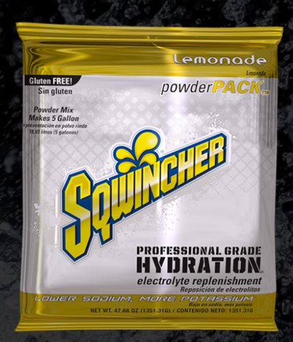 Sqwincher Sqwincher® PowderPacks (Yields 5 gal), Lemonade