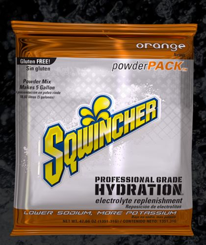 Sqwincher Sqwincher® PowderPacks (Yields 5 gal), Orange