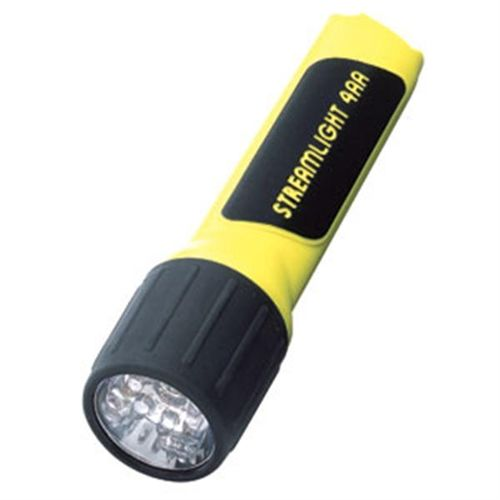 Streamlight 4AA LED WITH WHITE LEDS AND ALKALINE BATTERIES. BL