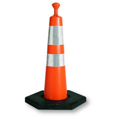 "Viz-Con 28"" GRABBER CONE NO REFLECTIVE COLLAR/ 16# BASE"